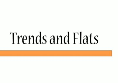 Trends and Flats